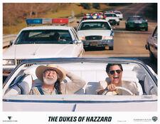 Dukes of Hazzard 11x14 lobby card Willie Nelson in convertable car
