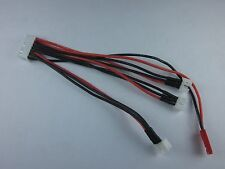 E-Flite MCPX BL 130X UMX 1 to 3 charging balance lead cable adaptor LiPo Battery
