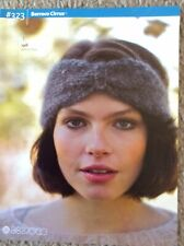 Berroco Yarn Pattern Booklet #323: 7 Patterns Including Sweaters, Mitts & Scarf