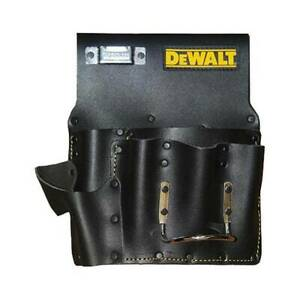 DEWALT Drywall Black Leather Pouch