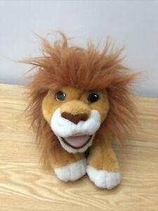 Lion King Simba Roaring Soft Plush Cuddly Toy Teddy Disney 1993 Sounds