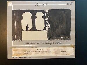 MIKE PLOOG Original Storyboard LORD OF THE RINGS 1978 Bakshi ARUMAN & GANDALF!