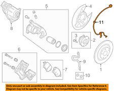 MAZDA OEM 17-18 3-ABS Wheel Speed Sensor Left BAAN437EYC
