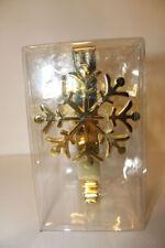 Ghirlande, corone e fiori natalizi in metallo