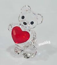 Swarovski Kris Bear A Heart For You, Love Siam Crystal Authentic MIB 958449