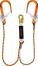 SKYLOTEC BFD Y SK12 Twin Rope Lanyard w/ 110mm Alu Scaff Hooks | AUTH. DEALER