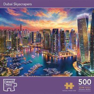 Dubai Skyscrapers 500 Piece Jigsaw Puzzle Game Brand New City UAE Towers