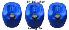 3x Kanister 30L Behälter Heizöl Vorratsbehälter Öl Diesel Benzin Floss 30 Liter