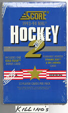1993 Score hockey series 2 box USA edition