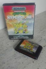 TEENAGE MUTANT HERO TURTLES - THE HYPERSTONE HEIST Mega Drive (no man) PAL