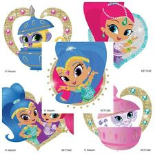 25 Shimmer and Shine Glitter STICKERS Party Favors Birthday Supplies Treat Bags