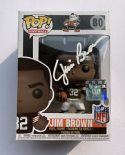Jim Brown Signed Autographed NFL Funko Pop Cleveland Browns Goat HOF PSA/DNA