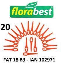 Florabest 20 Kunststoffmesser Florabest Akku Rasentrimmer FAT 18 B3 - 102971 PA6