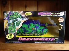 Transformers G2 Generation 2 Megatron Green Tank 100% Complete