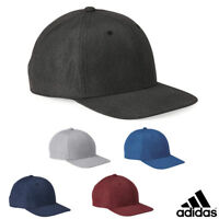 Adidas Snapback Ball Cap Heather Print Baseball Hat Adjustable - A628