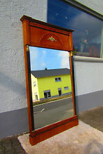 Biedermeier Spiegel um 1850 gigantisch groß Hand poliert