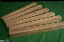 6 Pc Kiln Dry Hackberry Lathe Pen Turning Carving Lumber 1 x 1 x 12  Inch