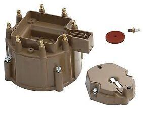 ACCEL Distributor Cap + Rotor Kit HEI V8 CHEVY PONTIAC BUICK 60kV Brass 350 305