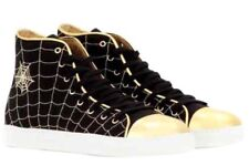 Brand New & Authentic Charlotte Olympia $595 Hi-Top Sneakers - 35
