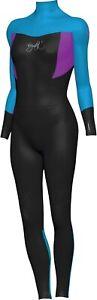 Maddog Kids Wetsuit SUPERSTRETCH STEAMER 3/2mm - Girls BLUE