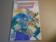 JUSTICE LEAGUE OF AMERICA #136 Bronze Age DC Comics 1976 FN