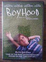 Boyhood (DVD, 2015) New! Patricia Arquette, Ethan Hawke, Ellar Coltrane. New!