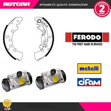 KIT8-G 4 Ganasce freno 2 cilindretti post.Fiat-Lancia-Opel (FERODO-METELLI)