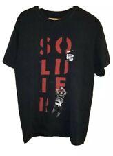 Nike LeBron James Soldier Black Shirt Large Loose Fit MVP ALL-Star NBA
