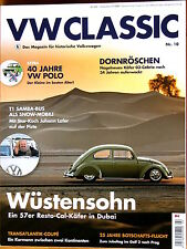 VW Classic 10 2015 Bus Brezel Käfer KdF 1303 Typ 3 14 34 Karmann Ghia Polo T1 T2