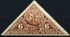 Nyassa Company 1924 SG#D137, 6c Sao Gabriel Ship MH #D63930