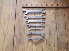 7 Vintage Vulco GPO Etc 1960s Small AF Spanners.