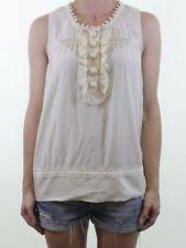 Sleeveless Scoop Neck Blouse Size Petite for Women