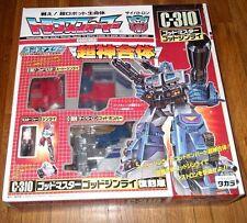 "EXPERTLY PACKED Transformers C-310 GodGinrai Reissue BRAND NEW ""SEALED"" MIB"