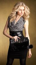 Guess Lelah Large Clutch on Natural Tone and Black Tone NEW Very Nice**