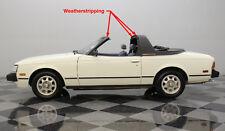 1978-1981 Celica Sunchaser TARGA top weatherstrip seal NEW! Repro'd Sundancer 2