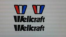 Wellcraft Boat decals   21 inch long Marine Vinyl set