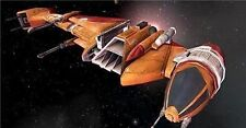 B-Wing Fighter Star Wars Spacecraft Mahogany Kiln Dry Wood Model Large New