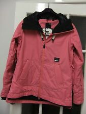 Nice ladies pink ski style jacket with hood and pockets by Bench.to fit sizeL