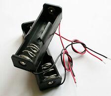 Estuche de plástico de 1 ranuras Caja Clip Soporte de Batería de 1 X 18650 De Alta Calidad