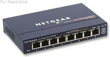 NETGEAR - FS108 - SWITCH, 10/100, NETGEAR, 8PORT, UK PLUG
