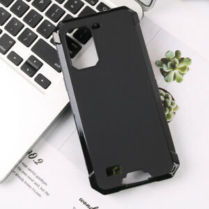 Shockproof Slim Silicone Thin Case Soft Cover Skin For Ulefone Armor 7 + GLASS