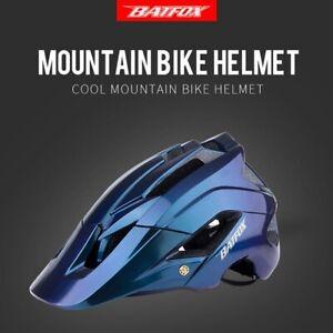 BAT FOX New MTB Bike Safely Multifunctional Bicycle Helmet Adults Lightweight