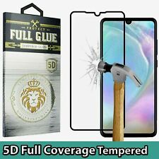 5D Full Cover Gorilla For HUAWEI P30 PRO Tempered Glass Screen Protector Black