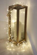Pearl Cluster - 200 LED Indoor Light Chain With Transformer - Mains Powered