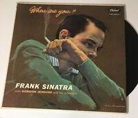 Frank Sinatra Where Are You Lp Vintage Vinyl Record