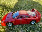 Hot Wheels Ferrari F40 model car*1:18*Red*Immaculate Condition