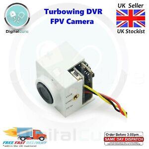 "Turbowing CYCLOPS 3 V2 DVR FPV Camera 700TVL 1/4"" CMOS 120 Degree + MIC - Whoop"