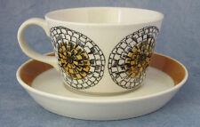 ARABIA OF FINLAND, Kehäkukka, Vintage, Coffee cup & Saucer, Excellent Condition