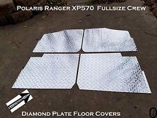 Polaris Ranger Crew XP 570  Aluminum Diamond Plate Floor cover 2013 and up