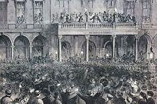 James Stephens Fenian Head Center 1866 Metropolitan Hotel Matted Antique Print